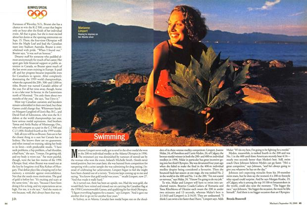 Article Preview: Swimming, September 2000 | Maclean's