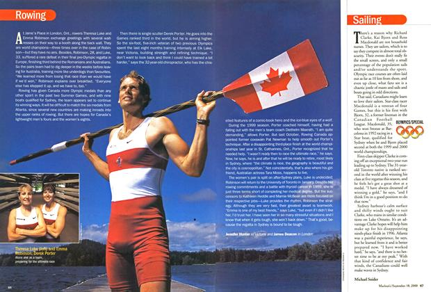Article Preview: Rowing, September 2000 | Maclean's