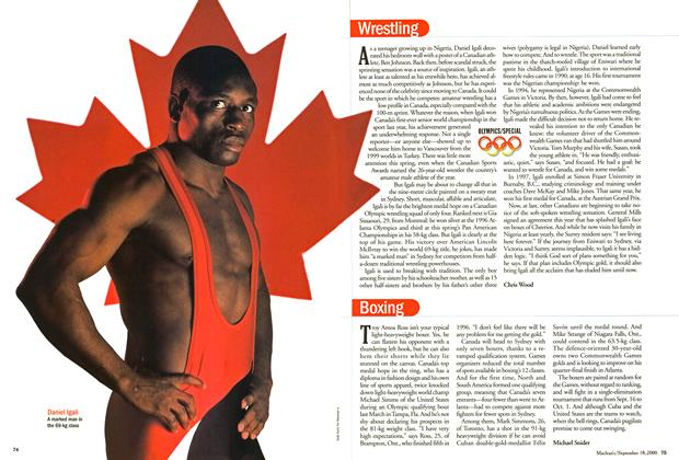 Article Preview: Boxing, September 2000 | Maclean's