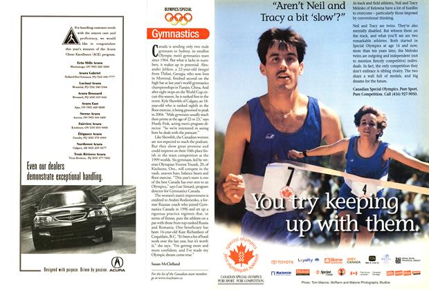Article Preview: Gymnastics, September 2000 | Maclean's