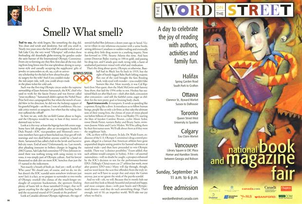 Article Preview: Smell? What smell?, September 2000 | Maclean's