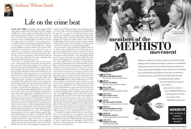Article Preview: Life on the crime beat, September 2000 | Maclean's
