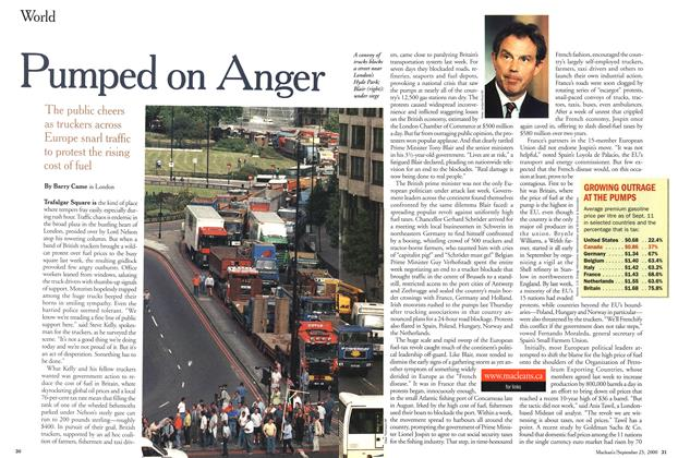 Article Preview: Pumped on Anger, September 2000 | Maclean's