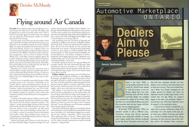 Article Preview: Dealers Aim to Please, September 2000 | Maclean's