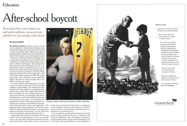 Article Preview: After-school boycott, September 2000 | Maclean's