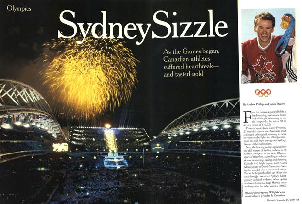 Article Preview: Sydney Sizzle, September 2000 | Maclean's