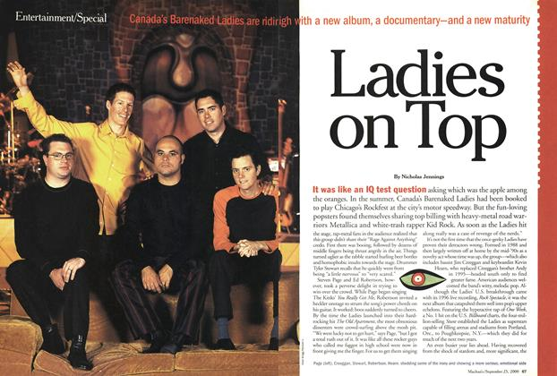 Article Preview: Ladies on Top, September 2000 | Maclean's