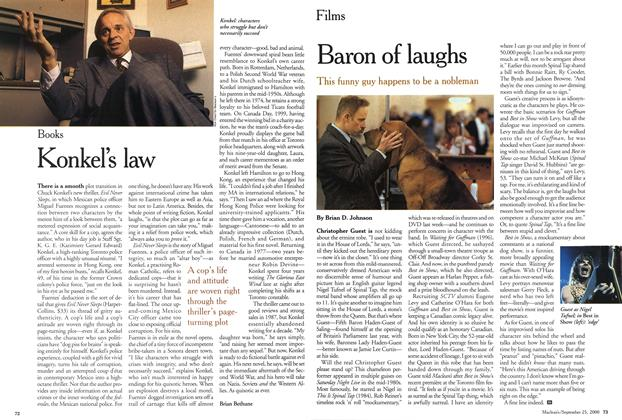 Article Preview: Baron of laughs, September 2000 | Maclean's
