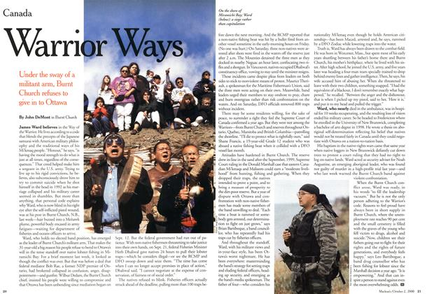 Article Preview: Warrior Ways, October 2000 | Maclean's