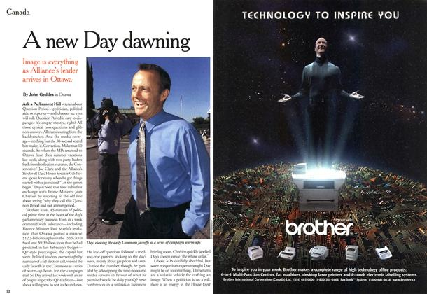 Article Preview: A new Day dawning, October 2000 | Maclean's