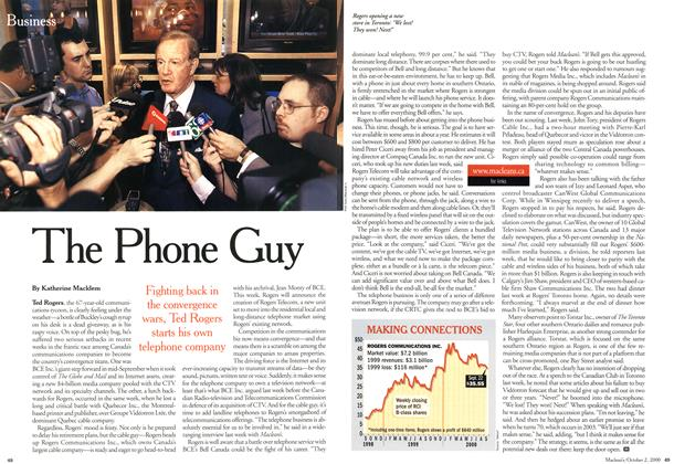 Article Preview: The Phone Guy, October 2000 | Maclean's