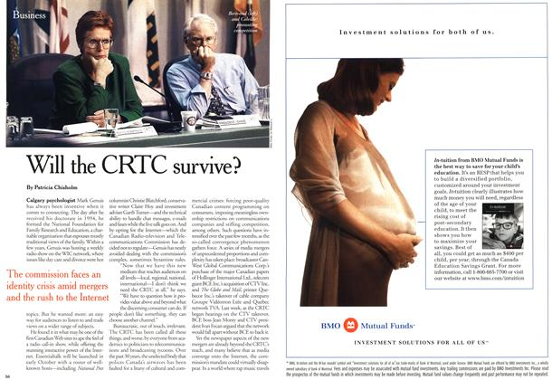 Article Preview: Will the CRTC survive?, October 2000 | Maclean's