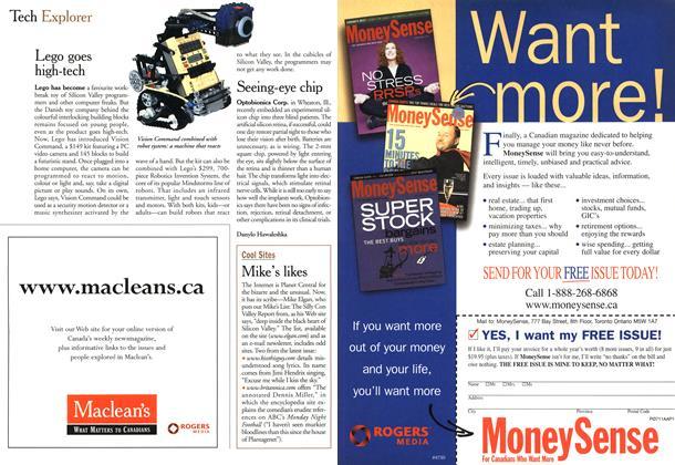 Article Preview: Tech Explorer, October 2000   Maclean's