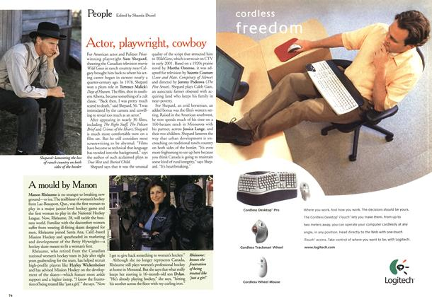 Article Preview: People, October 2000 | Maclean's