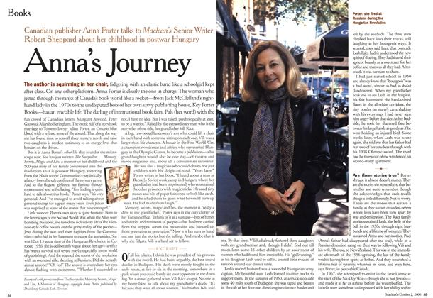 Article Preview: Anna's Journey, October 2000 | Maclean's