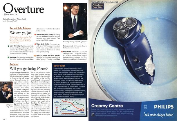Article Preview: Overture, October 2000   Maclean's