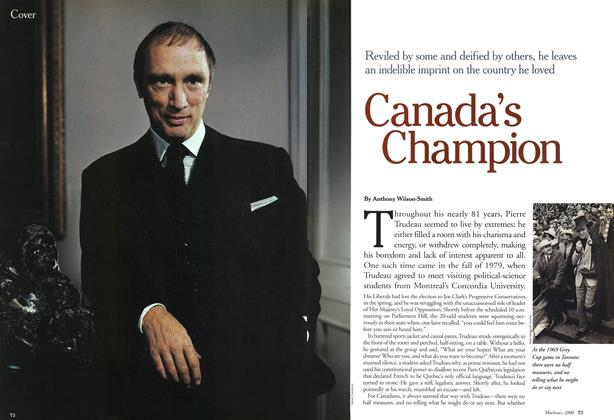 Article Preview: Canada's Champion, October 2000 | Maclean's