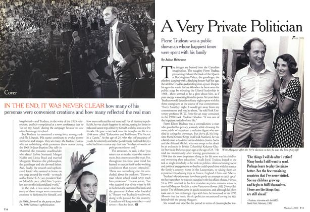 Article Preview: A Very Private Politician, October 2000 | Maclean's