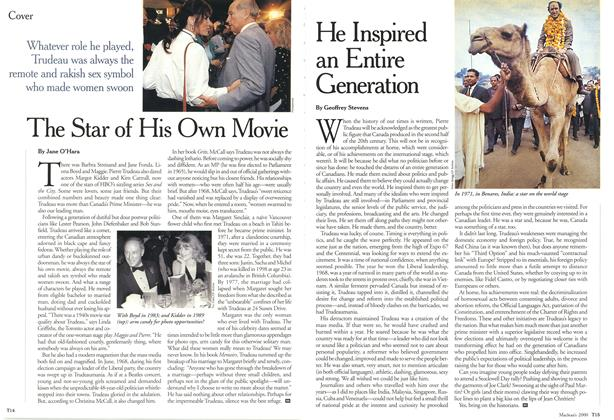 Article Preview: He Inspired an Entire Generation, October 2000 | Maclean's