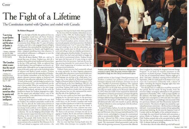 Article Preview: The Fight of a Lifetime, October 2000 | Maclean's