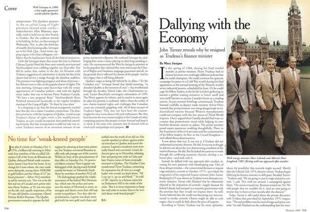 Article Preview: Dallying with the Economy, October 2000 | Maclean's