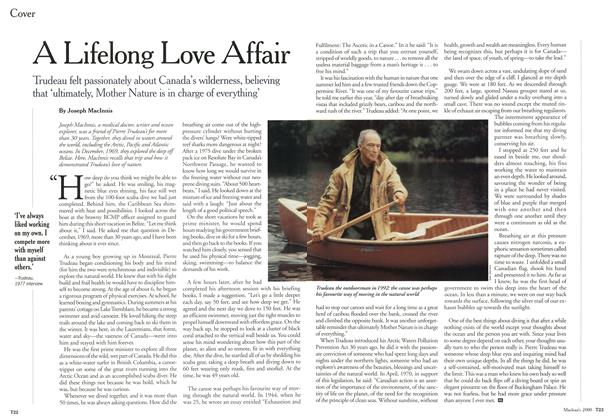 Article Preview: A Lifelong Love Affair, October 2000 | Maclean's