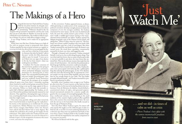 Article Preview: The Makings of a Hero, October 2000 | Maclean's