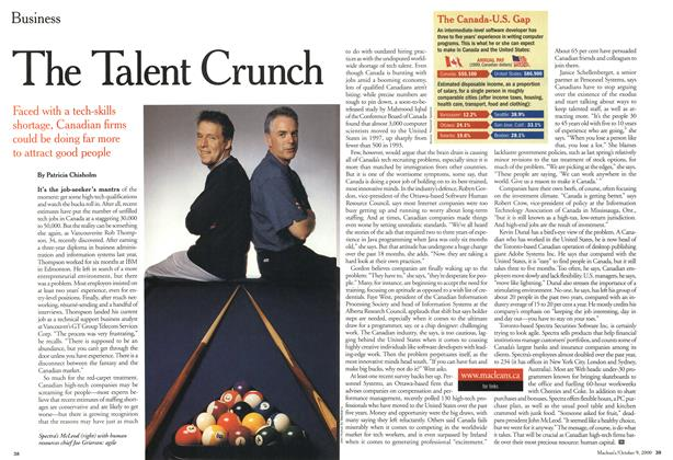 Article Preview: The Talent Crunch, October 2000 | Maclean's