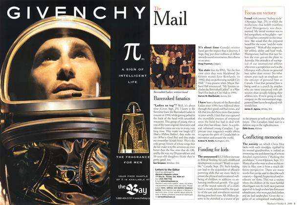 Article Preview: The Mail, October 2000 | Maclean's