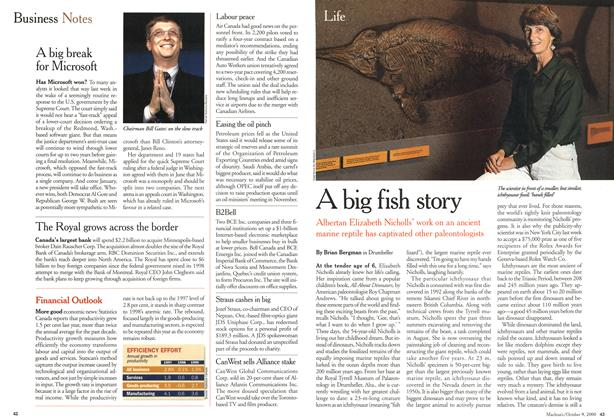 Article Preview: A big fish story, October 2000 | Maclean's