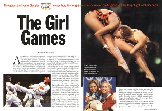 Article Preview: The Girl Games, October 2000 | Maclean's