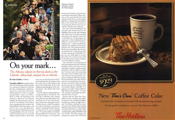 Article Preview: On your mark..., October 2000 | Maclean's