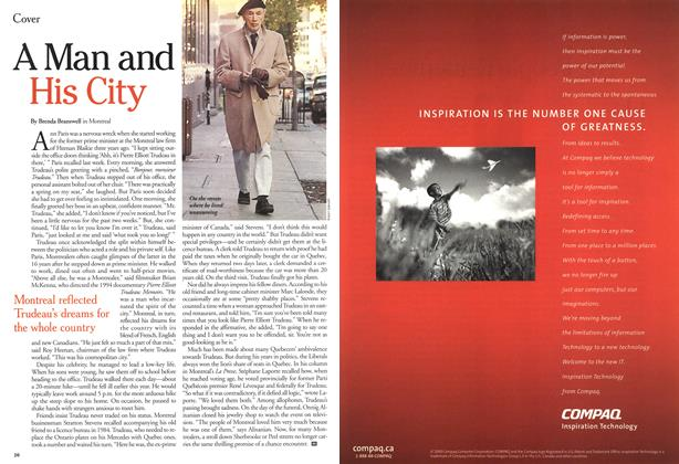 Article Preview: A Man and His City, October 2000 | Maclean's