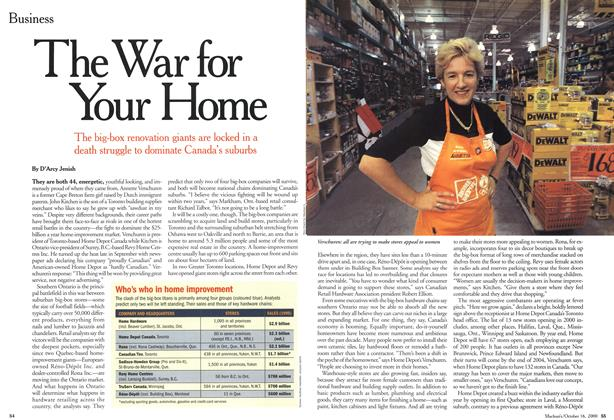 Article Preview: The War for Your Home, October 2000 | Maclean's