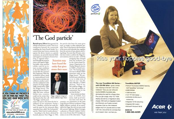 Article Preview: 'The God particle', October 2000 | Maclean's