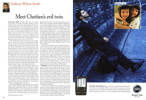 Article Preview: Meet Chretien's evil twin, October 2000 | Maclean's