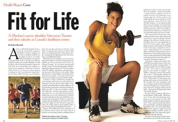 Article Preview: Fit for Life, October 2000 | Maclean's