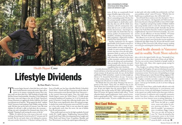 Article Preview: Lifestyle Dividends, October 2000 | Maclean's