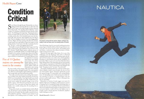 Article Preview: Condition Critical, October 2000 | Maclean's