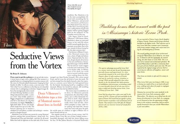 Article Preview: Seductive Views from the Vortex, October 2000 | Maclean's