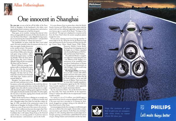 Article Preview: One innocent in Shanghai, October 2000 | Maclean's