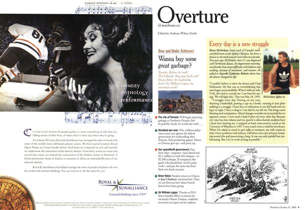 Article Preview: Overture, October 2000 | Maclean's