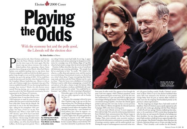 Article Preview: Playing the Odds, October 2000 | Maclean's