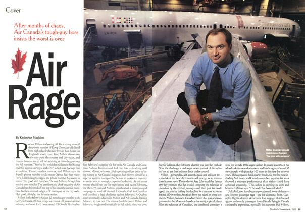 Article Preview: Air Rage, November 2000 | Maclean's