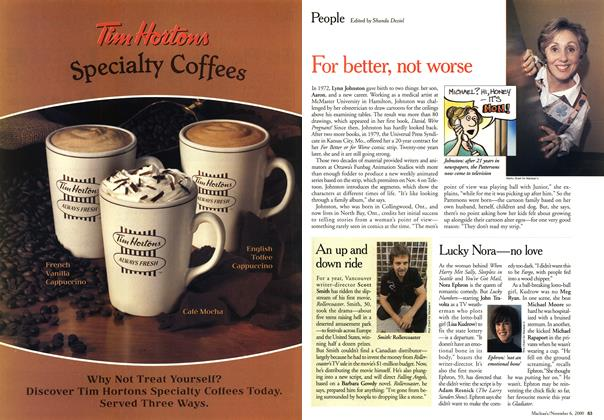 Article Preview: People, November 2000 | Maclean's