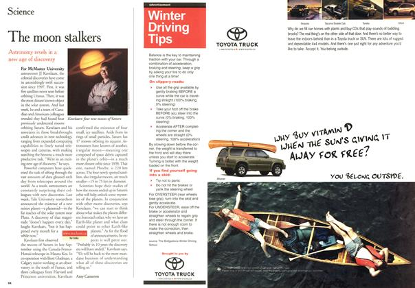 Article Preview: The moon stalkers, November 2000 | Maclean's