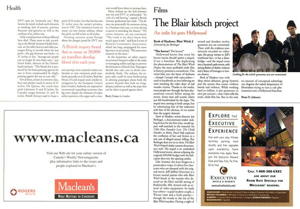 Article Preview: The Blair kitsch project, November 2000 | Maclean's