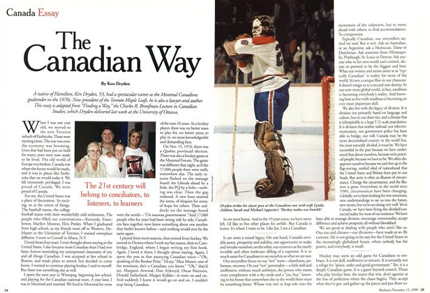 Article Preview: The Canadian Way, November 2000 | Maclean's