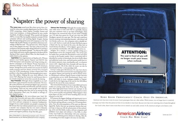 Article Preview: Napster: the power of sharing, November 2000 | Maclean's