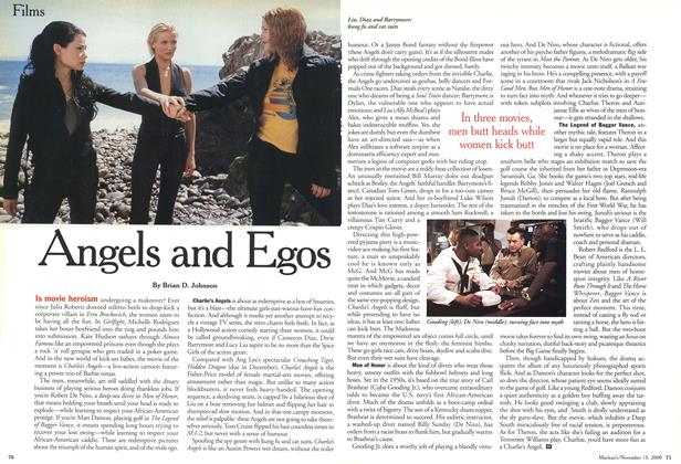 Article Preview: Angels and Egos, November 2000 | Maclean's